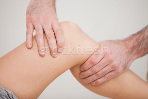 膝 患者 ルーム 医師 医療 ストックフォト © wavebreak_media
