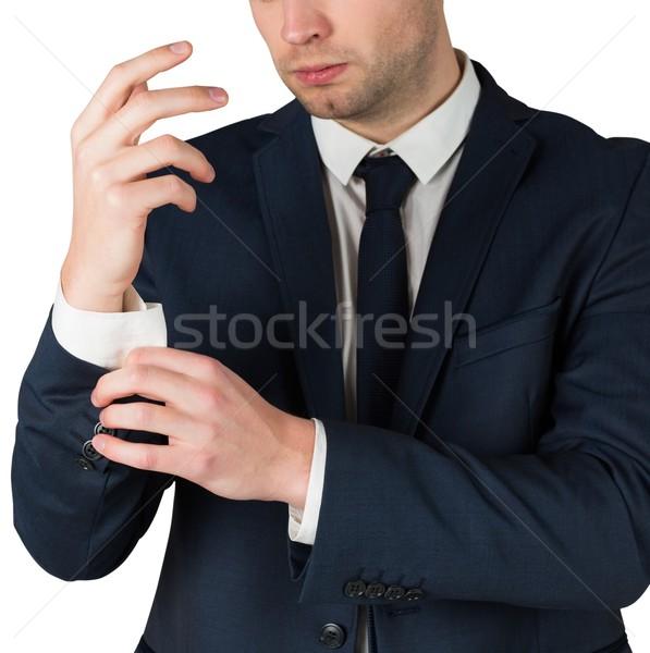 élégant affaires entreprise professionnels Homme carrière Photo stock © wavebreak_media