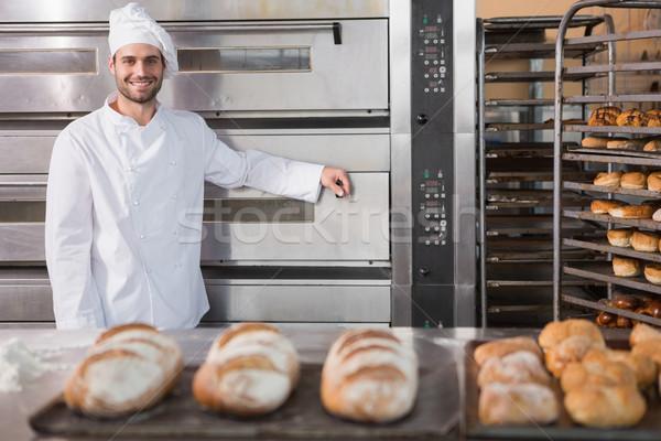 Felice Baker professionali forno panetteria Foto d'archivio © wavebreak_media