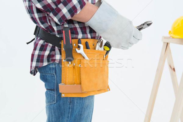 Rękawica widok z boku mężczyzna Zdjęcia stock © wavebreak_media