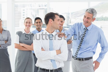 Ludzi biznesu biuro portret wesoły kobieta Zdjęcia stock © wavebreak_media