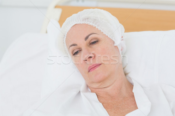 patient resting in the bed  Stock photo © wavebreak_media