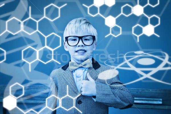 Composite image of science graphic Stock photo © wavebreak_media