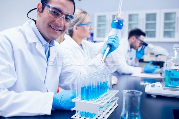 Ciência estudante lab corpo universidade Foto stock © wavebreak_media
