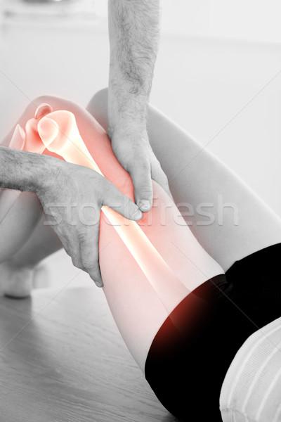 Os femme composite numérique homme médecin médicaux Photo stock © wavebreak_media