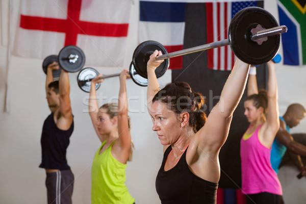 Giovani fitness studio donna Foto d'archivio © wavebreak_media