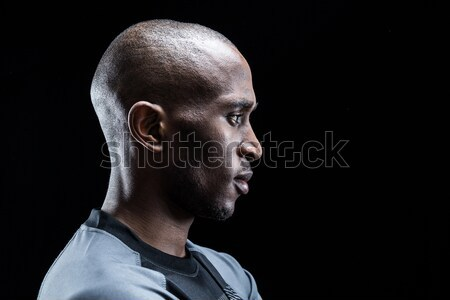 Profile view of rugby player Stock photo © wavebreak_media