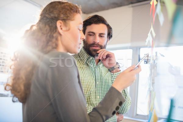 Thoughtful businesspeople Stock photo © wavebreak_media