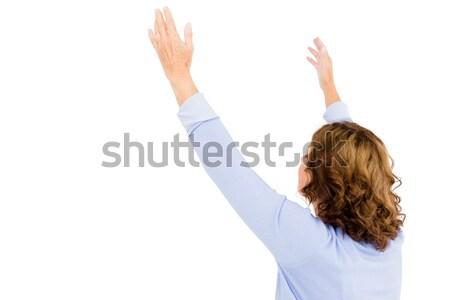 成熟した女性 祈っ 白 高齢者 礼拝 ストックフォト © wavebreak_media