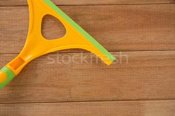 Cropped image of wiper on table Stock photo © wavebreak_media