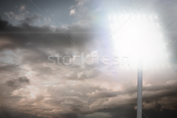 Composite image of spotlight Stock photo © wavebreak_media