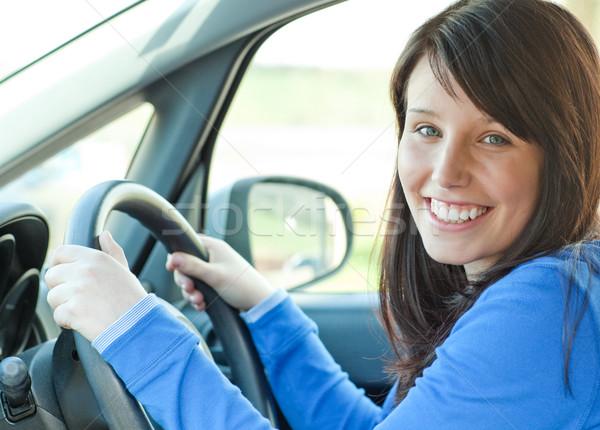 Young woman driving Stock photo © wavebreak_media