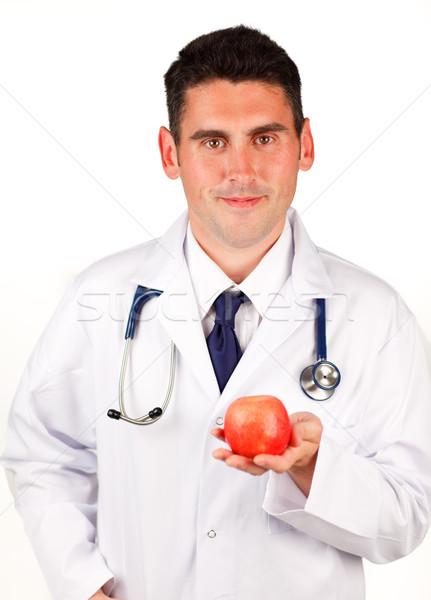 Orvos recept üzlet kéz boldog orvosi Stock fotó © wavebreak_media