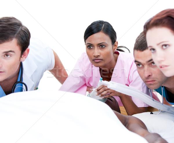 медицинской команда пациент больницу Сток-фото © wavebreak_media