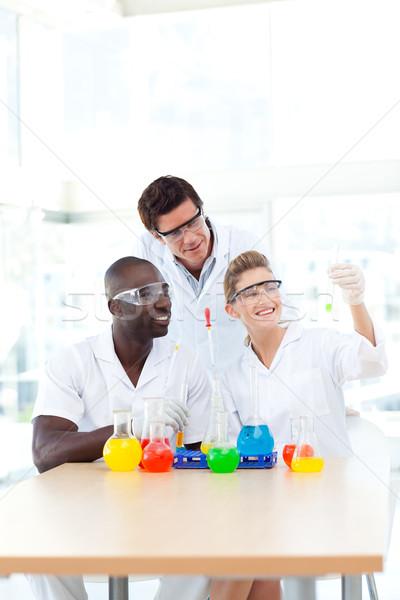 Wissenschaft Studenten Business Arzt Arbeit Stock foto © wavebreak_media