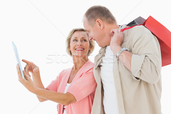 Glimlachend ouder paar naar Stockfoto © wavebreak_media
