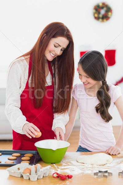 母親 娘 一緒に ホーム ストックフォト © wavebreak_media