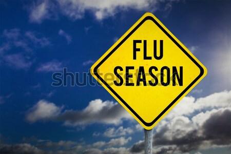 изображение грипп сезон небе облака Сток-фото © wavebreak_media