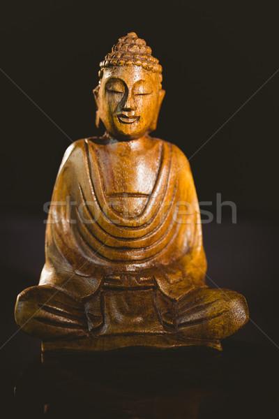Foto stock: Buda · estátua · tiro · estúdio · paz