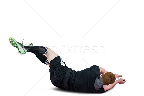 A rugby player scoring a try Stock photo © wavebreak_media