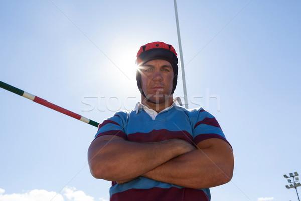 портрет регби игрок Blue Sky Сток-фото © wavebreak_media
