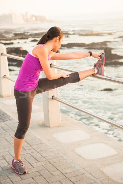 Uygun kadın bacak mesire Stok fotoğraf © wavebreak_media