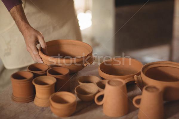 Cerâmica tabela oficina negócio arte Foto stock © wavebreak_media