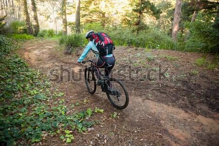Para rowerowe wraz utwór Zdjęcia stock © wavebreak_media