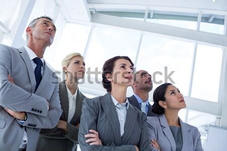 Presentatie kantoor business vrouw Stockfoto © wavebreak_media