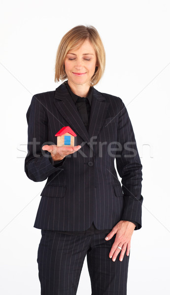 Mature woman working as a real state agent Stock photo © wavebreak_media