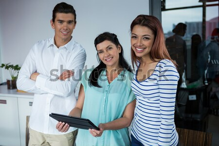Zakenman vergadering team kantoor man werk Stockfoto © wavebreak_media