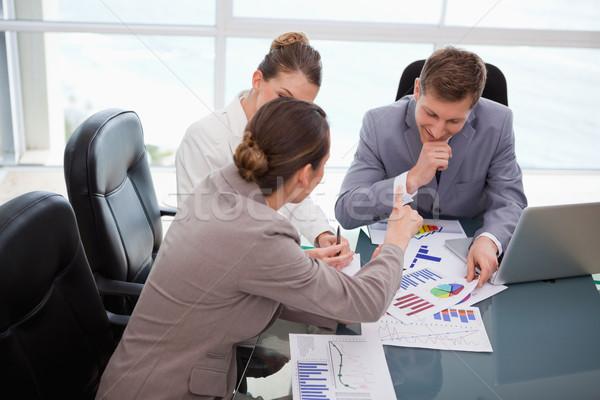 Equipo de negocios mercado investigación resultados negocios Foto stock © wavebreak_media