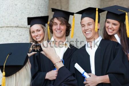 Diplômé photos ami Université Photo stock © wavebreak_media