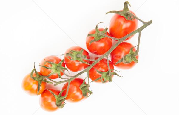 Tomates vid blanco alimentos hoja rojo Foto stock © wavebreak_media