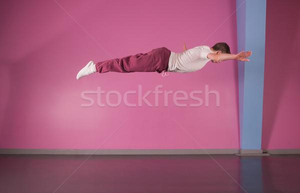 クール ブレーク ダンサー 空気 ダンス スタジオ ストックフォト © wavebreak_media