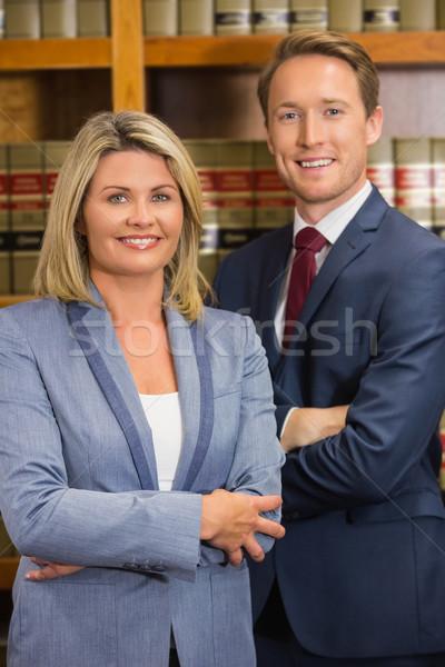 команда Адвокаты прав библиотека университета женщину Сток-фото © wavebreak_media