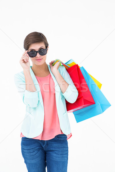 Woman holding some shopping bags  Stock photo © wavebreak_media