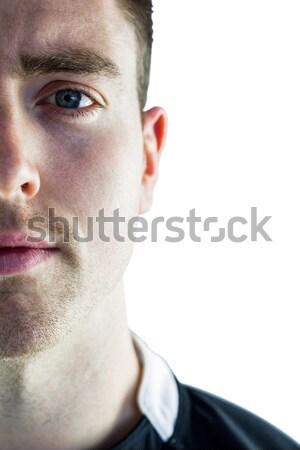 Rugby jogador olhando câmera ver Foto stock © wavebreak_media