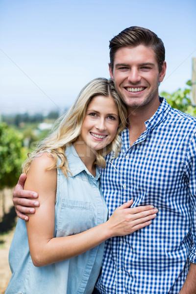 Retrato feliz casal vinha Foto stock © wavebreak_media