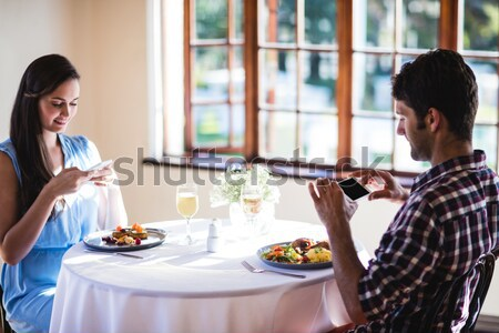 Couple arguing with each other Stock photo © wavebreak_media