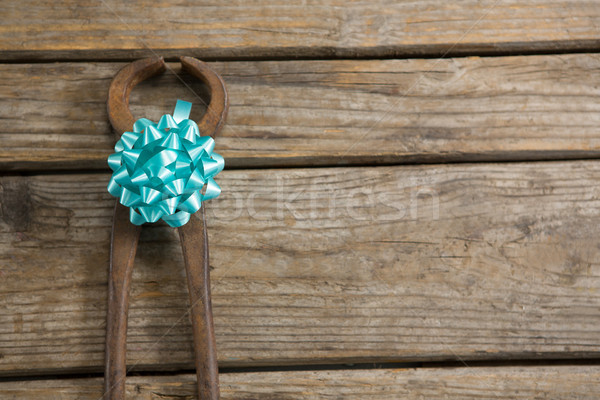 Close up of work tool decorated with ribbon Stock photo © wavebreak_media