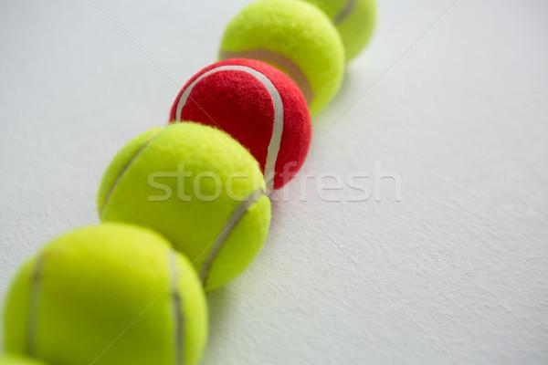 Vista tenis blanco Foto stock © wavebreak_media