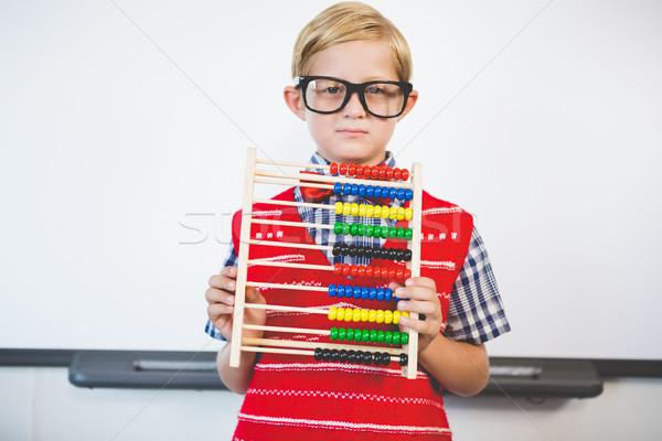 öğretmen portre sınıf okul eğitim Stok fotoğraf © wavebreak_media