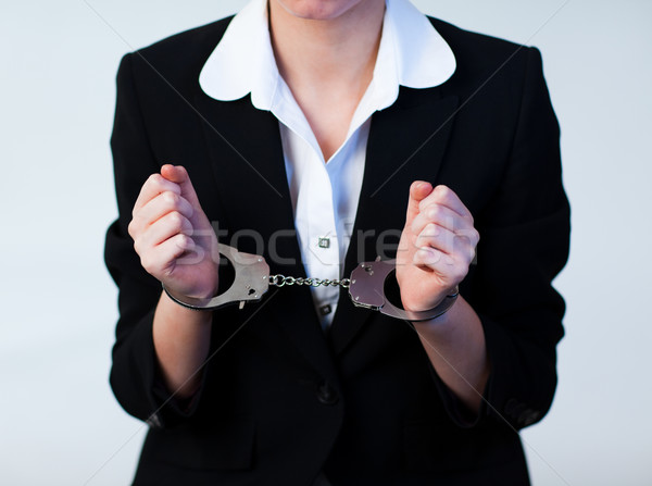 Business Woman in Handcuffs Stock photo © wavebreak_media