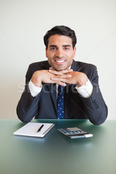Portrait of an accountant posing in his office Stock photo © wavebreak_media