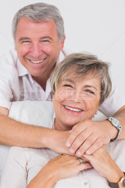 Portrait of smiling old couple Stock photo © wavebreak_media