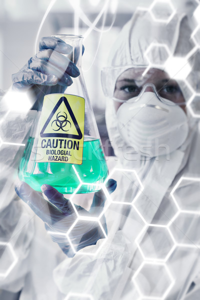 Composite image of science and medical graphic Stock photo © wavebreak_media