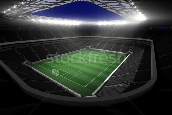 サッカー スタジアム ライト デジタル 生成された ストックフォト © wavebreak_media