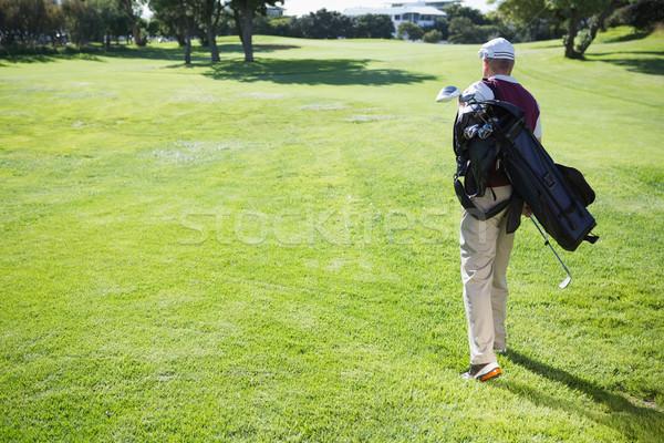 Bag piedi campo da golf Foto d'archivio © wavebreak_media