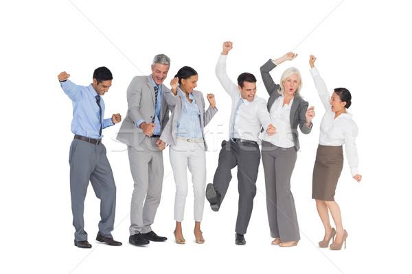 Pessoas de negócios escritório branco mulher homem Foto stock © wavebreak_media